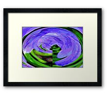 I'm Going Around in Circles Framed Print