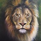 Painted lion by gregottlinger