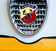 1967 Fiat Abarth TC Berlina Corsa Emblem by Jill Reger