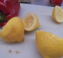 Lemons and Peppers by SheilaBailey