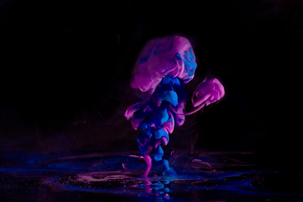 Ink + Water (purple/blue) by hellodaniel