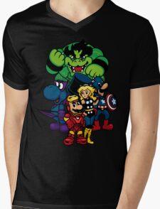 Mushroom A Mens V-Neck T-Shirt