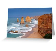 Twelve Apostles. Port Campbell National Park, Victoria, Australia. Greeting Card