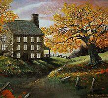 Autumn Manor by Chris J Worden Gregg