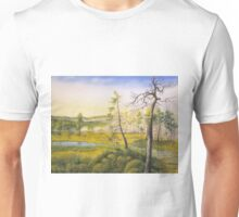 Morning swamp Unisex T-Shirt