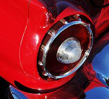 1957 Ford Thunderbird Taillight by Jill Reger