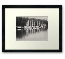 Masts Framed Print