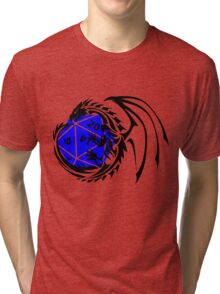 Dungeons and Dragons - Black and Blue! Tri-blend T-Shirt