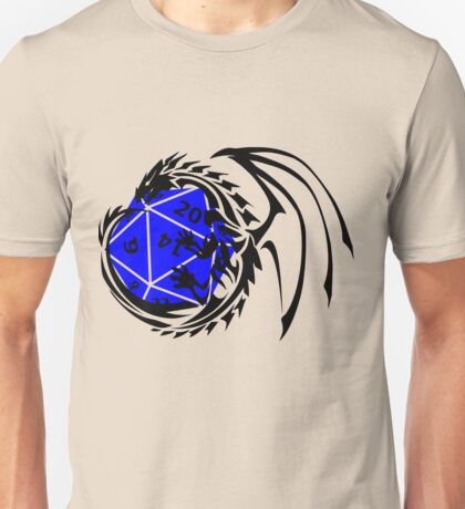 Dungeons and Dragons - Black and Blue! Unisex T-Shirt