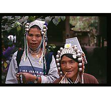 Akha Women Photographic Print