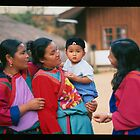 Lisu Women with Baby by Rob Steer