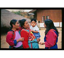 Lisu Women with Baby Photographic Print