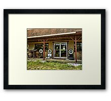 Weight on me Framed Print