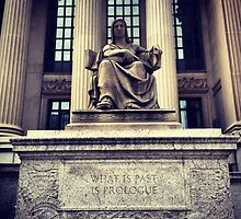 'What is Past is Prologue' - US Archives, Washington, DC by SylviaS