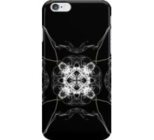 white square on Black iPhone Case/Skin