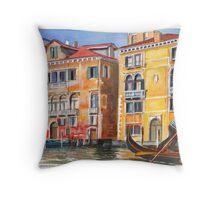 Veneto Gondolier Throw Pillow