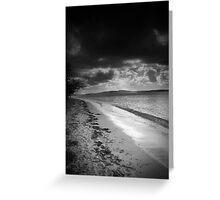 Along the shore at Bagnalls Greeting Card