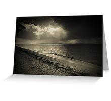 Along the shore at Bagnalls 3 Greeting Card