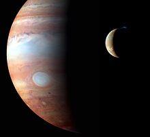 Jupiter & IO II Series V by Jeff Pierson