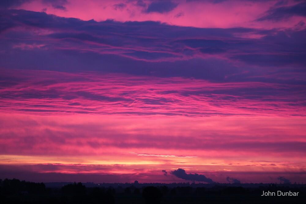 Midsummers Day Sunrise 2012 by John Dunbar