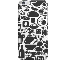 Meal a background2 iPhone Case/Skin