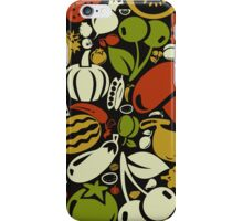 Meal a background3 iPhone Case/Skin