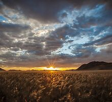 Sunburst Through the Clouds by Jill Fisher