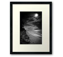 Along the shore at Bagnalls 6 Framed Print