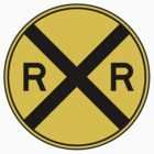 Railroad Ahead Sign by SignShop