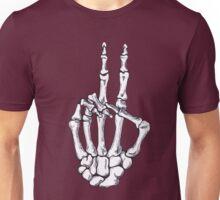 Peace Skeleton Hand Unisex T-Shirt