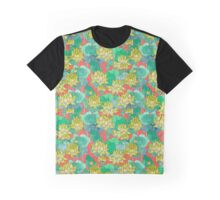 Lotus Flower - Yellow Graphic T-Shirt