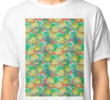 Lotus Flower - Yellow Classic T-Shirt