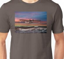 Consolidated PBY-5A at Sunset (US Navy Version) Unisex T-Shirt