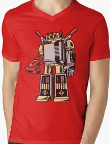 NESTRON Mens V-Neck T-Shirt
