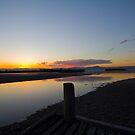Illawarra Sunset on Lake Illawarrra by Ryan Conyers