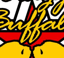 Street Fighter IV Boxer - Crazy Buffalo Sticker