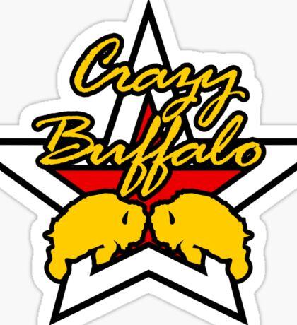 Street Fighter IV Boxer - Crazy Buffalo Sticker
