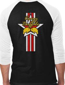 Street Fighter IV Boxer - Crazy Buffalo (Stars & Stripes) Men's Baseball ¾ T-Shirt