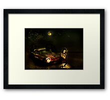 Been here for a While Framed Print