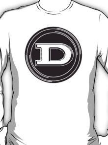 "Datsun letter ""D"" round emblem T-Shirt"