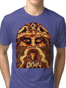Norse God ODIN Tri-blend T-Shirt