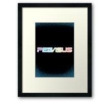 Peg-ASUS Rainbow Framed Print