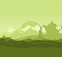 Tea landscape by Aleksander1