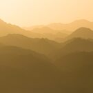 Mountains in Jordan by Rick  Senley