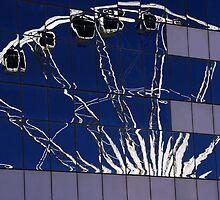 Ferris Wheel Reflections by Noel Elliot