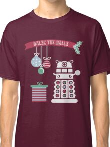 """Dalek the halls"" Christmas Design Classic T-Shirt"