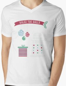 """Dalek the halls"" Christmas Design Mens V-Neck T-Shirt"