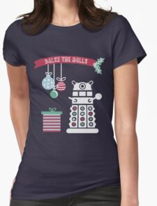 """Dalek the halls"" Christmas Design T-Shirt"