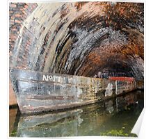 Narrow Boat Underground Poster
