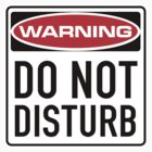 Do Not Disturb Sign by SignShop